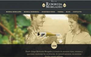 Página web de Bodegas GRM