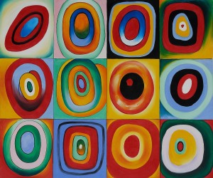 Farbstudie Quadrate by Wassily Kandinsky OSA472